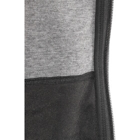The North Face Slacker Veste à capuche Garçon, tnf mid grey heather/tnf black/tnf mid grey heather